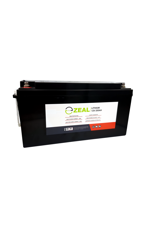 ZEAL SLZ12V200S 12v 200Ah Lithium Deep Cycle Battery