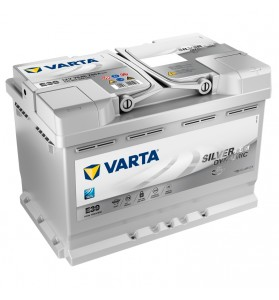 VARTA E39 12v 760cca SILVER DYNAMIC AGM STOP/START Battery