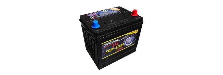 EFB Stop-Start Car Batteries