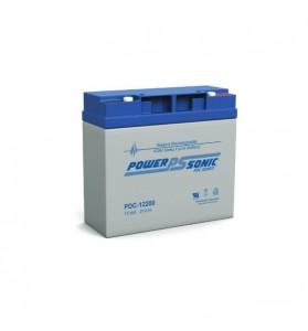 Power Sonic PDC12200 12V 21ah Deep Cycle AGM Battery