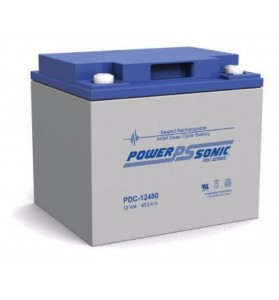 Power Sonic PDC12480 12v 48ah AGM Battery