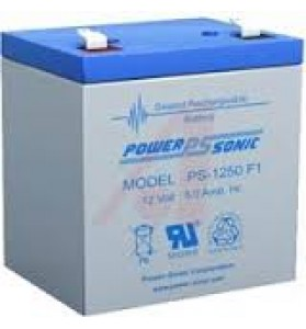 Power Sonic PS1250 12v 5ah AGM STANDBY Battery