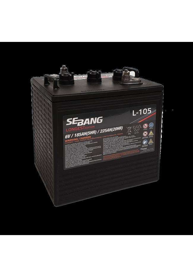 Sebang L105 6v105 C105 225Ah Deep Cycle Battery