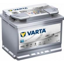 VARTA D52 12v 680cca SILVER DYNAMIC AGM STOP/START Battery
