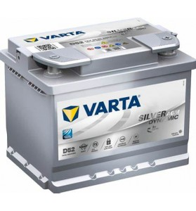VARTA D52 12v 680cca SILVER DYNAMIC AGM STOP/START Battery