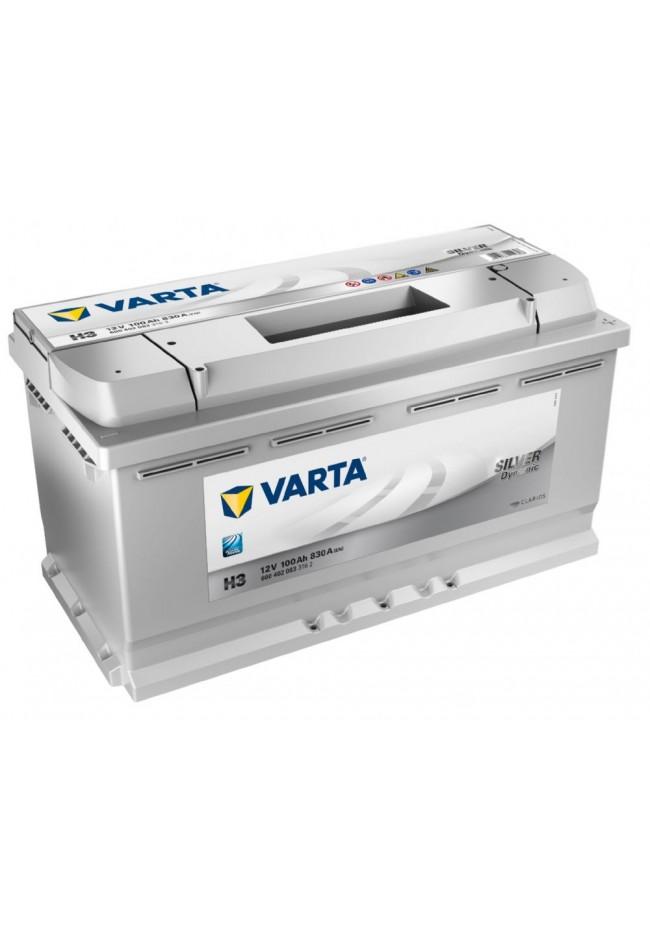 VARTA H3 12v 830cca SILVER DYNAMIC Battery