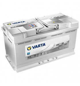 VARTA G14 12v 850cca SILVER DYNAMIC AGM STOP/START Battery